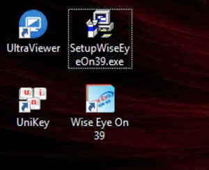 setup wiseeye on 39