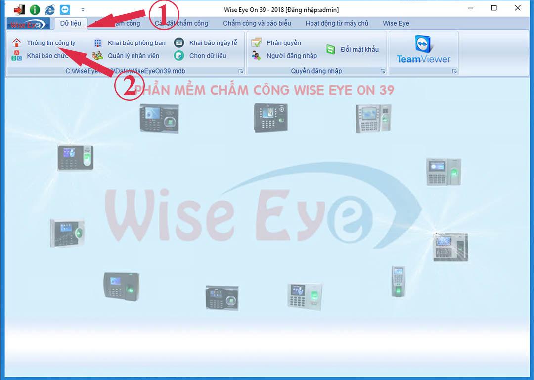 thông tin công ty trên wiseeye