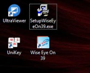 setup wiseeye on 39